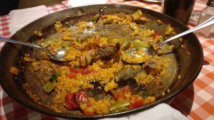 best paella in Madrid