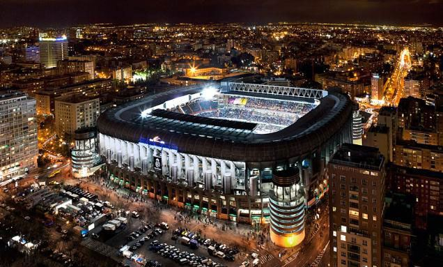 Random facts about Real Madrid's Bernabéu Stadium