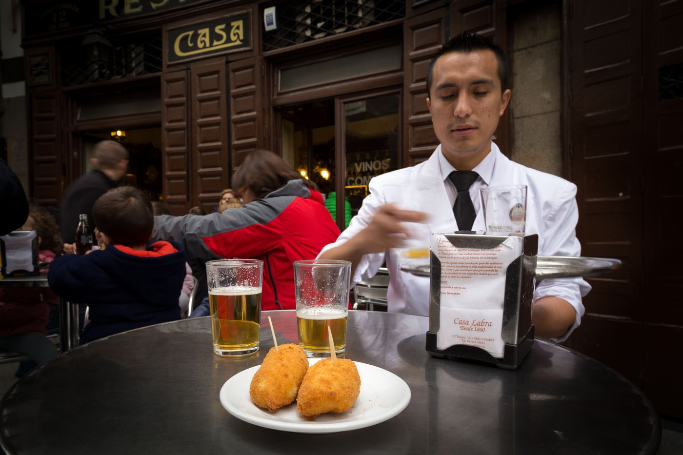 Top five Madrid tapas