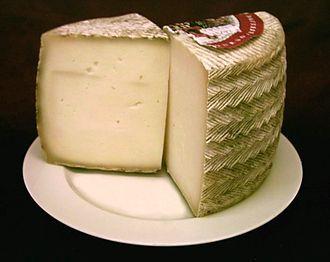 Manchego Cheese tapa, delicious!