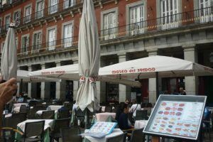 Terraces in Madrid