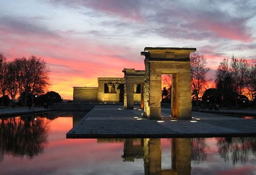 Madrid Templo de Debod