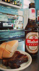 Mahou Spanish beer
