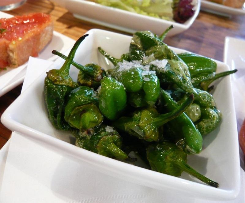 Spanish Padron Peppers