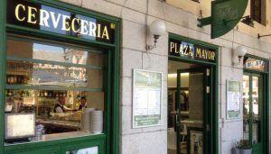 Madrid calamari sandwich