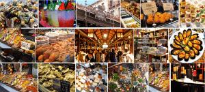 Mercado san miguel tapas