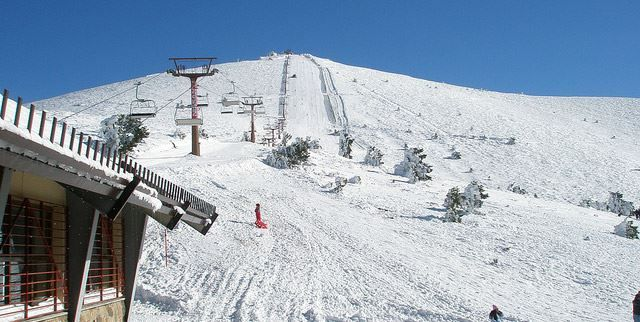 Skiing in Madrid