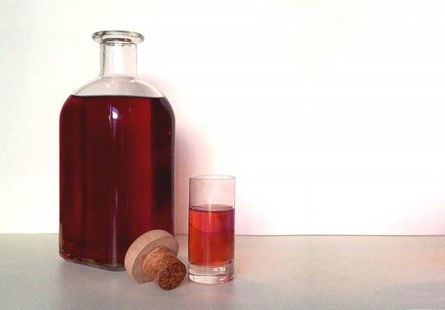 Typical Spanish liqueur: pacharan