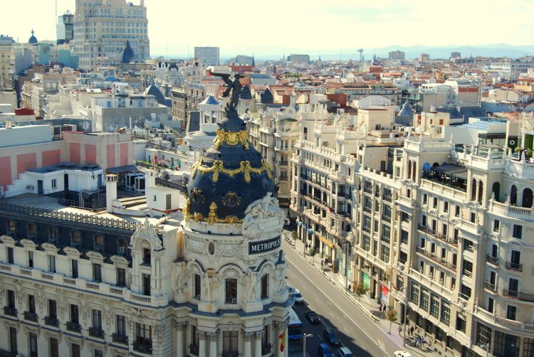 Madrid's top three Roof-top Terraces