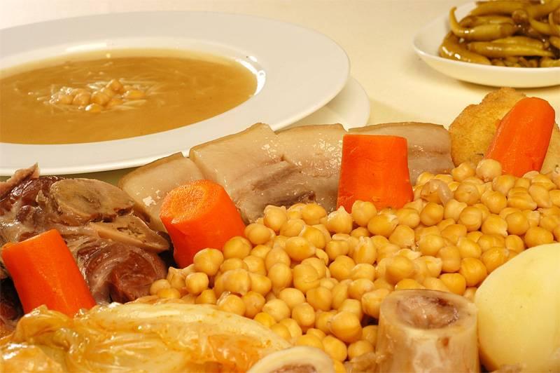 Madrid winter food