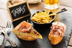 Ordering tapas in Madrid