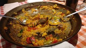 best paella in Madrid
