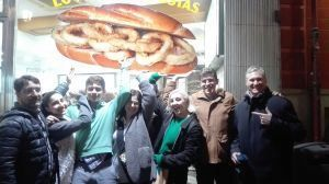 Madrid calamari sandwhich