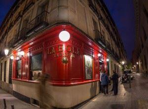 Madrid tapa street
