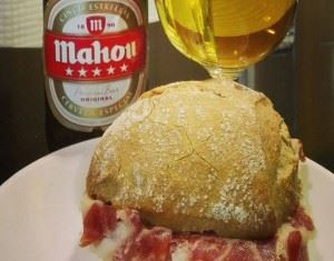 Jamón and beer!