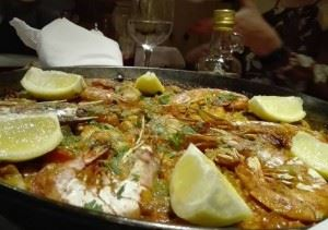 The best paella in Madrid!