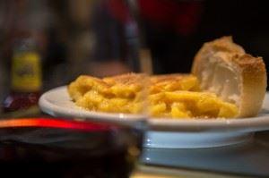 Rioja wine & tortilla tapa