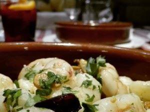Madrid shrimp tapa