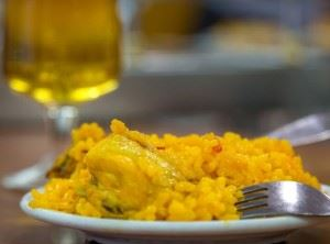 Paella Spanish tapa